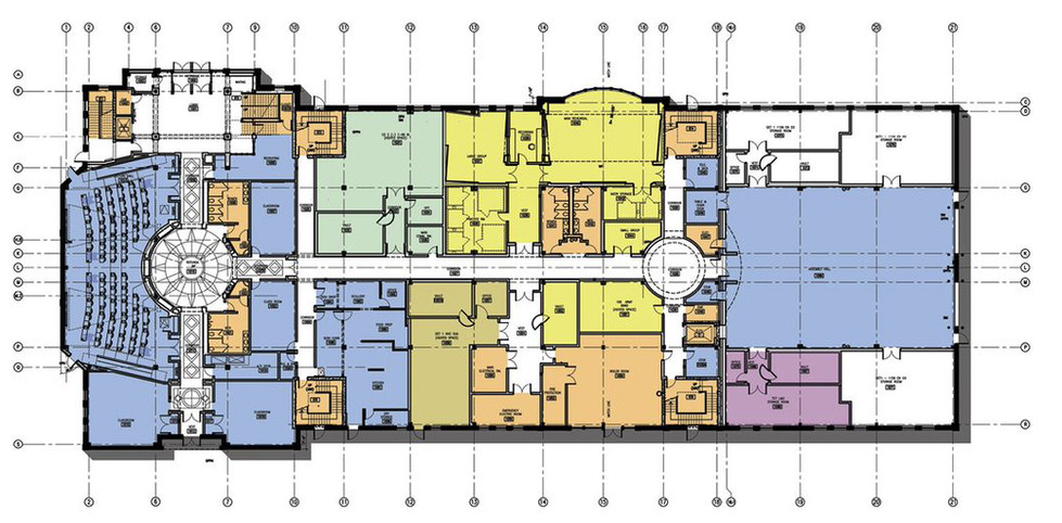 Camp Smith Armory - Floor Plan