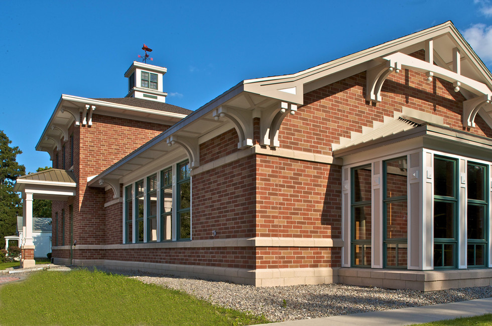 Skaneateles Fire Station - Exterior facing W. Genesee St.