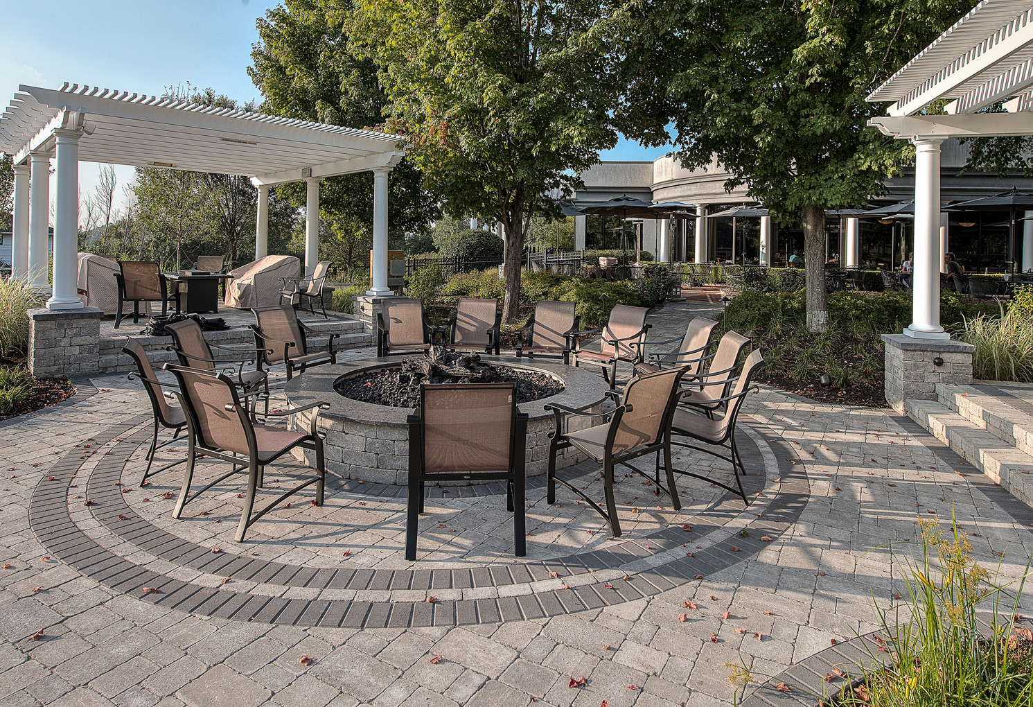 Bellevue Country Club Patio - Fire Pit