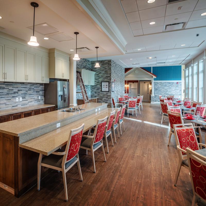 Loretto Memory Care Dining Room