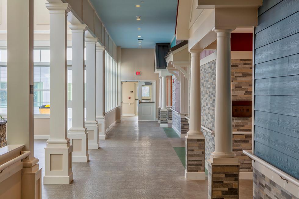 Loretto Borer Memory Life Community - Hallway
