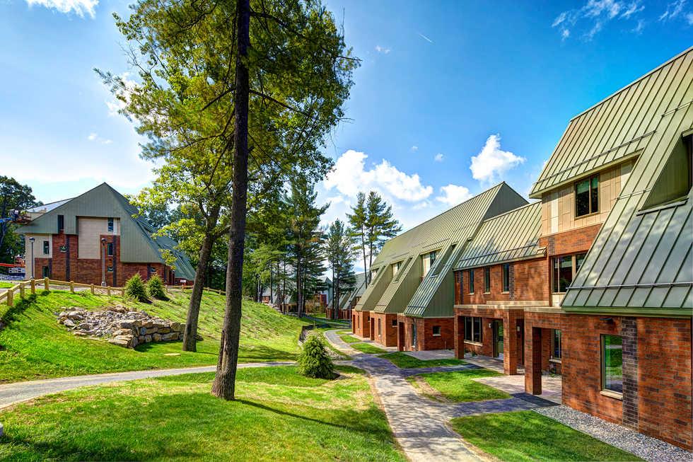 Skidmore College, Sussman Village Woodland Complex