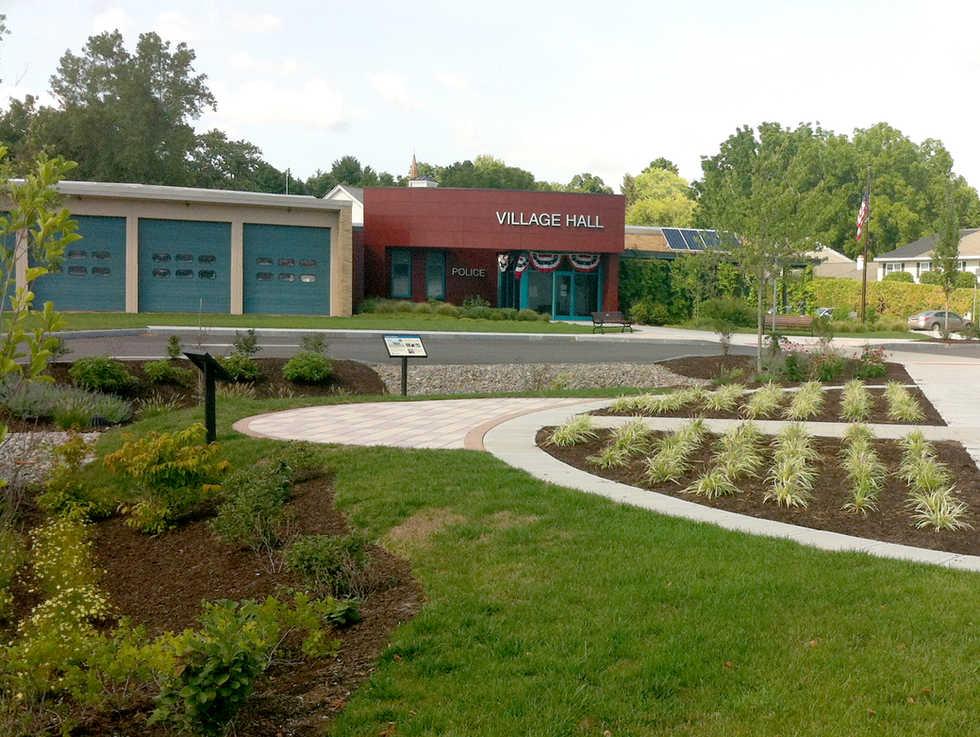 Skaneateles Village Hall Site Reclamation