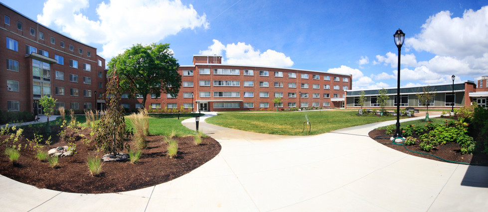Syracuse University - Watson Hall Courtyard Panorama