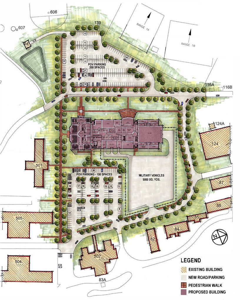 Camp Smith Readiness Center - Site Plan