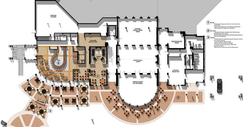 Bellevue Country Club Patio - Floor Plan