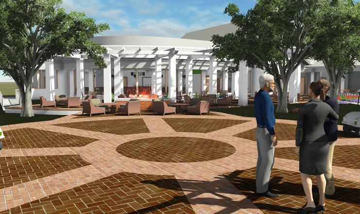 Bellevue Country Club - Master Plan Rendering