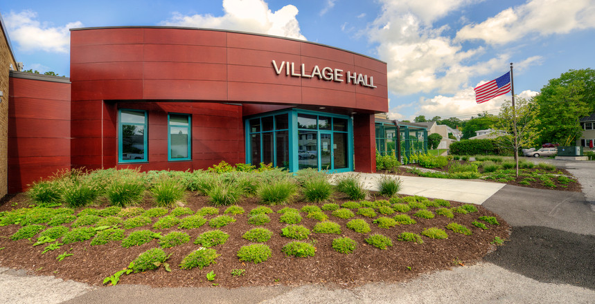 Skaneateles Village Hall - Exterior and Landscape