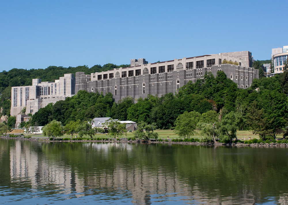 United States Military Academy at West Point - Thayer Hall Renovation and Expansion, View from Hudson River