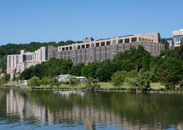 West Point Military Academy - Thayer Hall Renovation - Proposed View from River