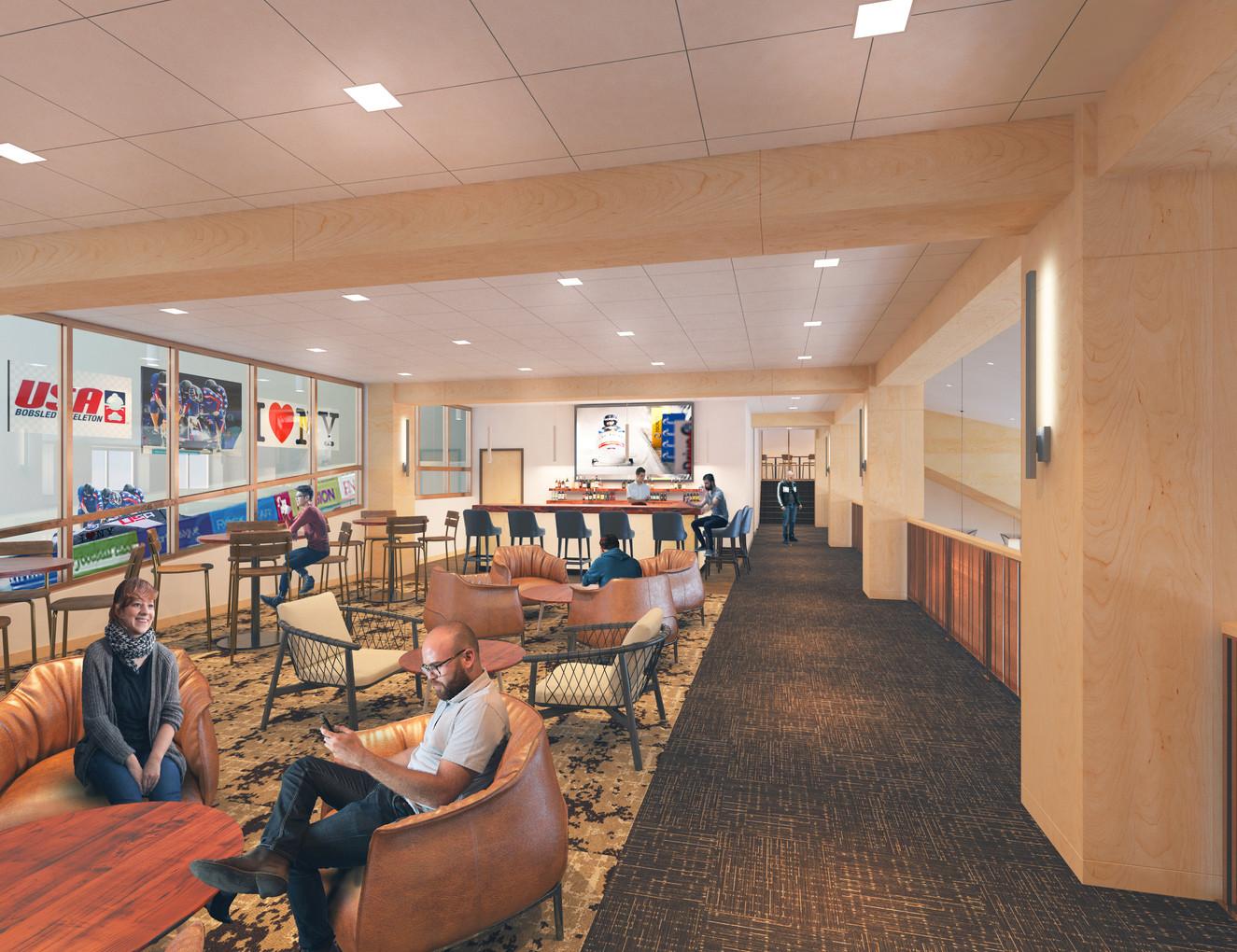 ORDA Mt. Van Hoevenburg - 3rd Floor Lounge