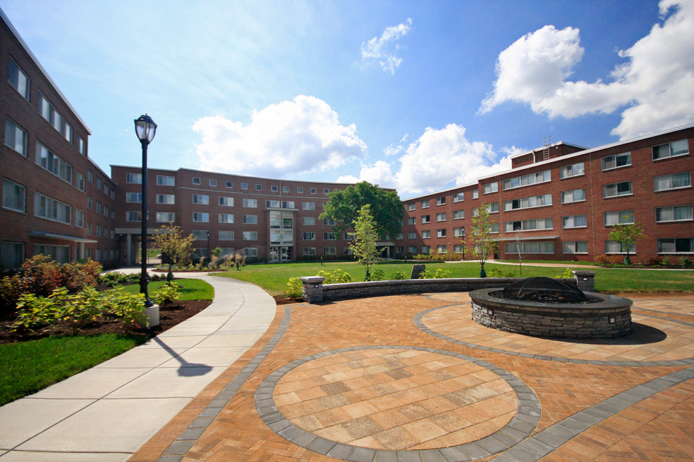 Syracuse University - Watson Hall Courtyard Hardscape