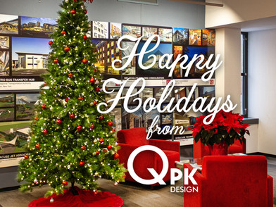 Happy Holidays 2020 from QPK Design