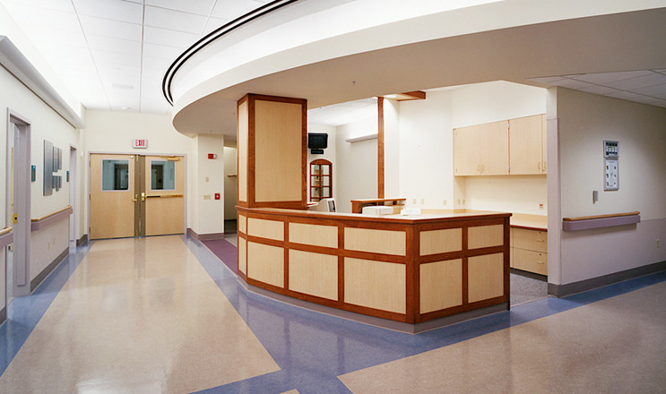 Crouse Cardiac Care Center - Reception Desk