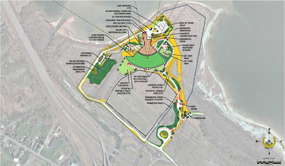 St. Joseph's Amphitheater - Site Plan