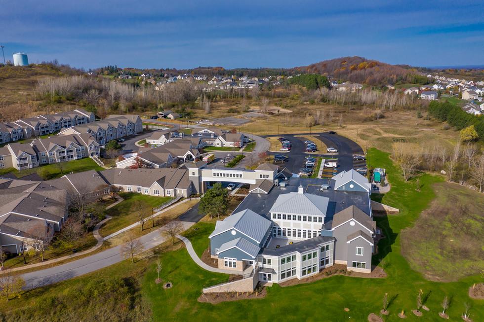 Loretto Borer Memory Life Community - Aerial View