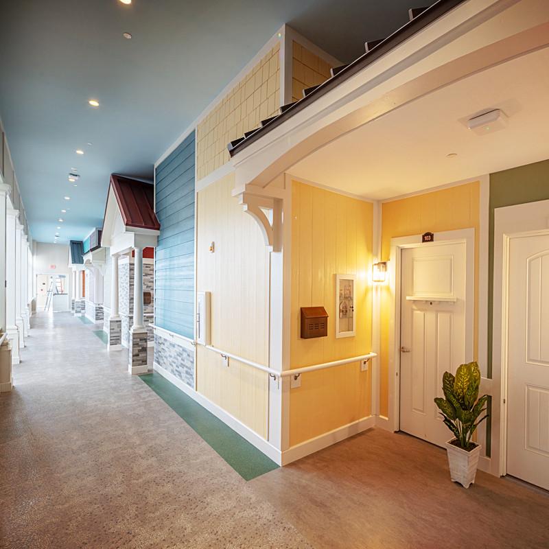 Loretto Memory Care Resident Hallway