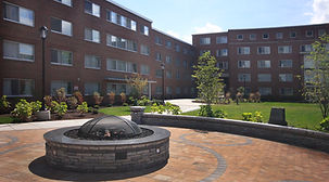 Syracuse University, Watson Hall Courtyard