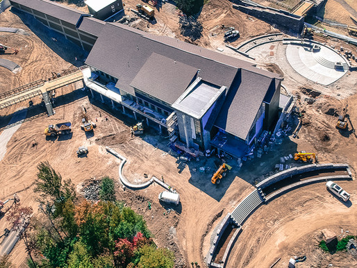 Mt. Van Hoevenburg Construction Progress