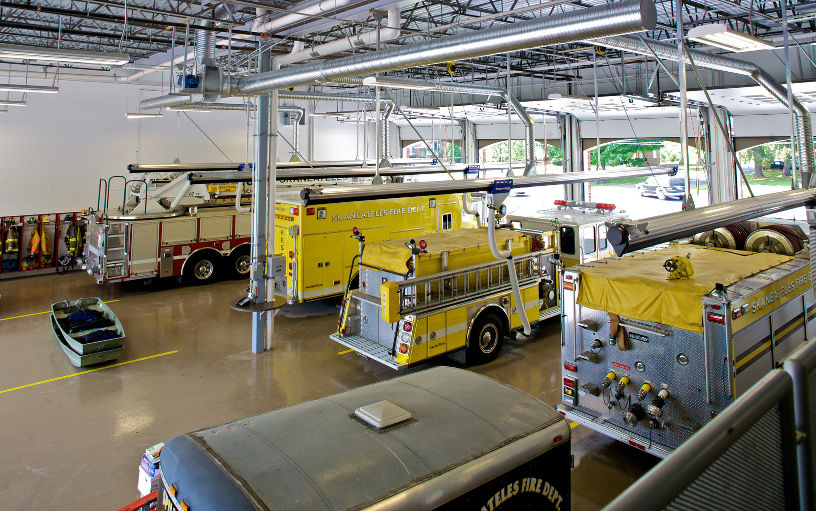 Skaneateles Fire Station - Apparatus Bay