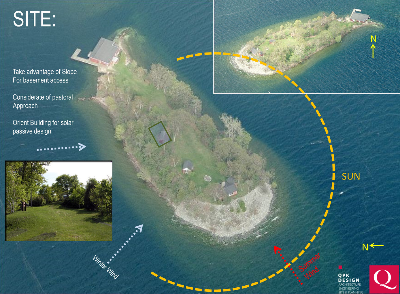 SUNY ESF Thousand Islands Biological Station (TIBS) - Site Analysis