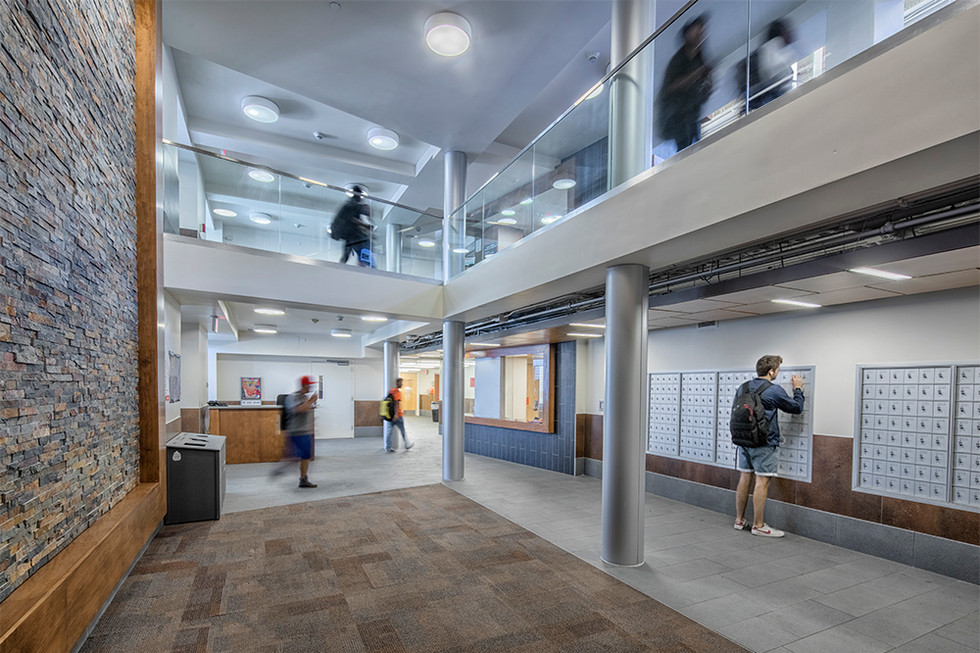 Shaw Residence Hall Renovation