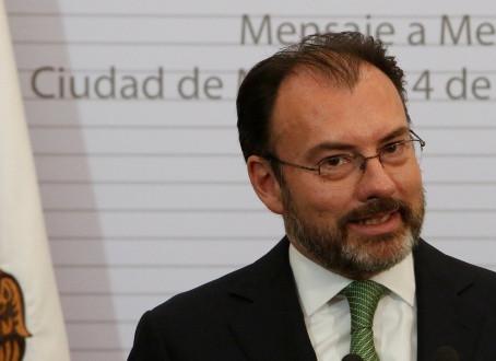 Videgaray habría metido mano a discurso de Trump sobre muro fronterizo: Reporte