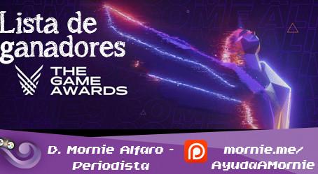 Todos los ganadores en The Game Awards 2019