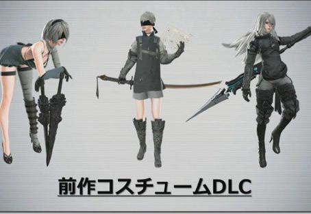 NieR: Automata recibirá DLC, incluye trajes nostálgicos (y sensuales)