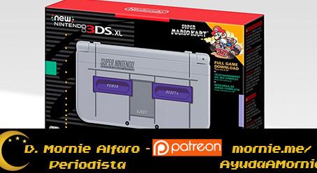 Con toda la nostalgia del SNES, llega un New Nintendo 3DSXL