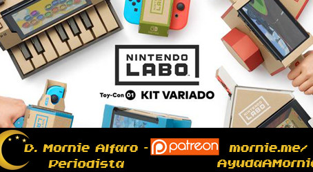 Nintendo Labo: La sorpresa de cartón para los niños de la Gran N