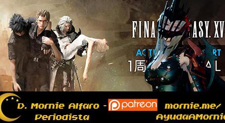 Final Fantasy XV recibirá tres episodios más en 2018. El primero: Ardyn Izunia