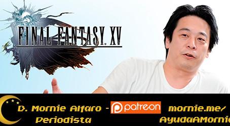 ¡Adiós a Hajime Tabata! El director de FFXV deja Square Enix
