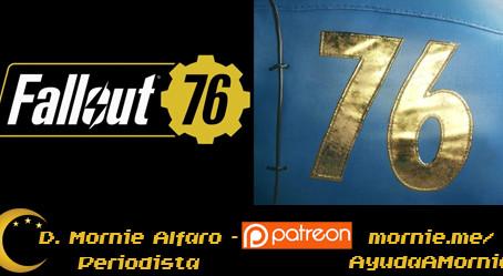 Sobrevive al yermo solo o con tus amigos en Fallout 76