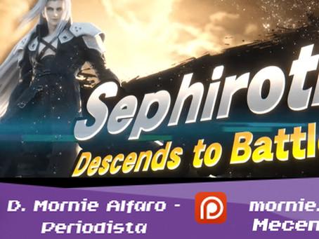 Sephiroth se une a la batalla en Super Smash Bros. Ultimate