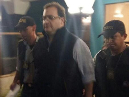 #ÚltimaHora: Javier Duarte fue detenido en Guatemala