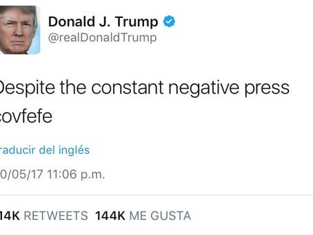 #Covfefe, o de cómo Donald Trump se quedó dormido mientras tuiteaba