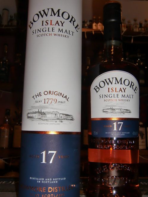 Bowmore 17y Islay Single Malt Whisky