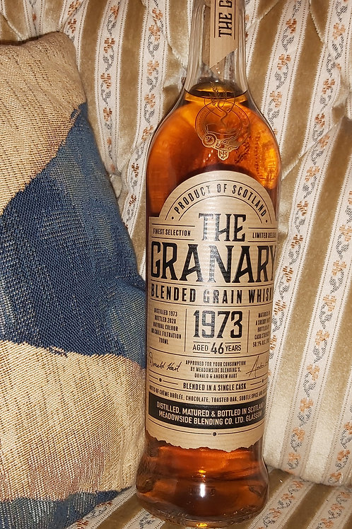 The Granary 1973 blended Grain Whisky