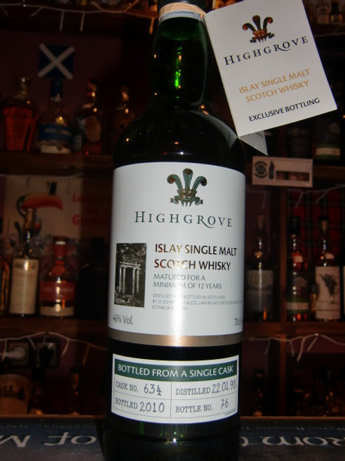 Laophroaig Highgrove single Cask Whisky