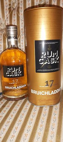 Bruichladdich 17 Jahre Rum Cask Single Malt Whisky