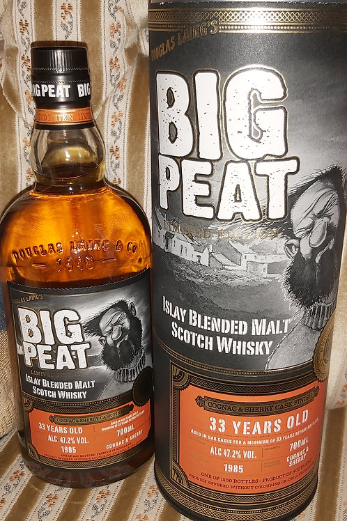 Big Peat 33y. Islay Malt Whisky