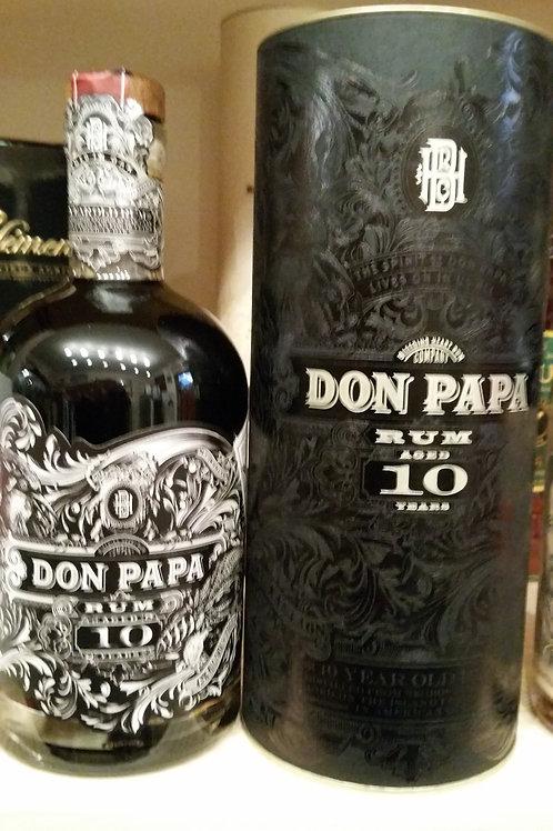 Don Papa Rum 10y.