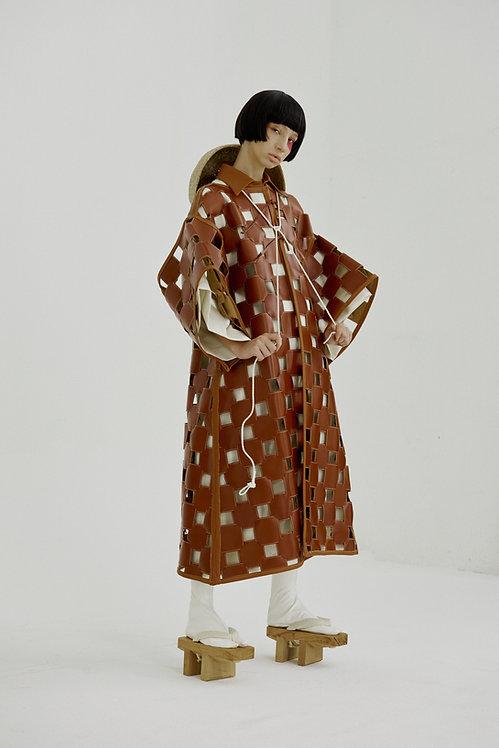 Jingū Hand-weaved Kimono Sleeve Long Coat