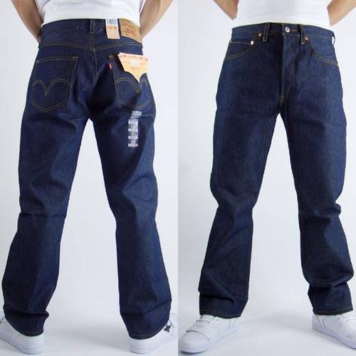42a122310c Pantalon levis 501 azul marino