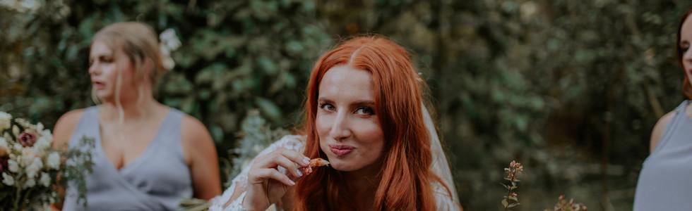 Bride Eating our food.jpg