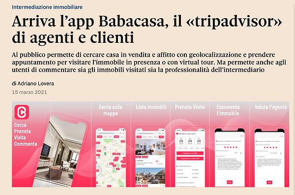 """BabaCasa """"tripadvisor"""" immobiliare"""