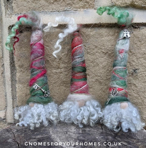 Custom Christmas gnome ornaments