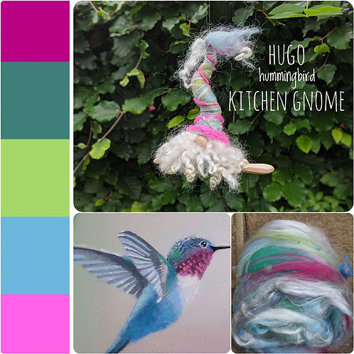 Hugo the Hummingbird Gnome