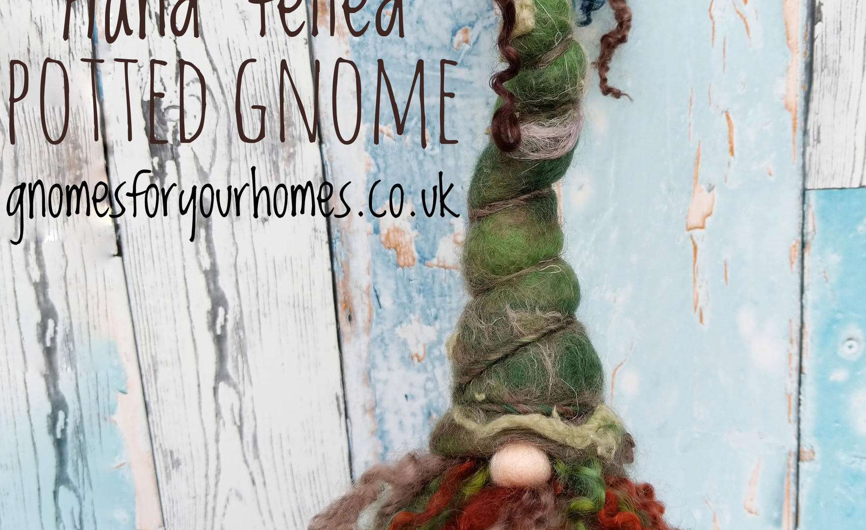 Mossy Rock, Potted Gnome For Your Home
